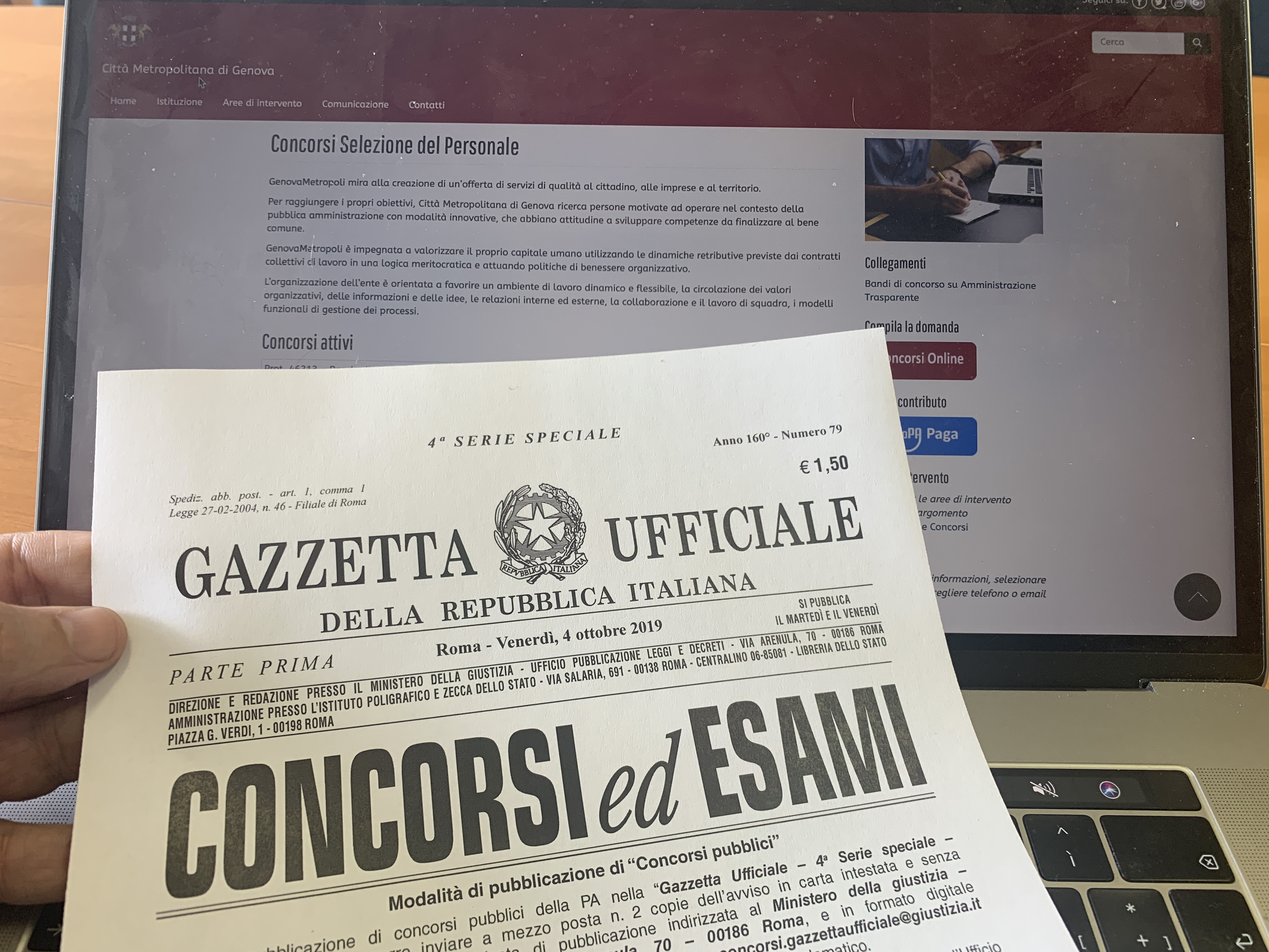 News: Concorsi: preselezione di VENERDÌ 13 DICEMBRE