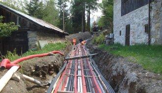 News: Autorizzazione Unica: infrastruttura energetica lineare con cavi interrati da cabina primaria Morigallo a cantieri Aspi CI13 E CI14