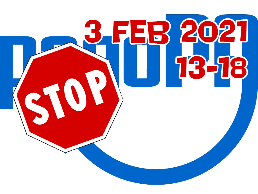 PagoPA: stop 3 feb 2021 dalle 13:00 alle 18:00