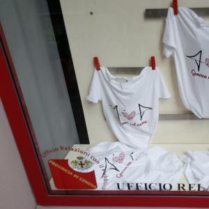 Le magliette di Genova nel cuore, il nostro punto vendita