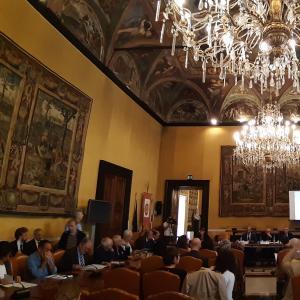 Sala del Consiglio Città Metropolitana di Genova 4