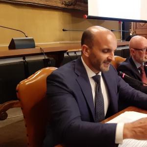 Piero Araldo e Simone Ferrero convegno Open Data 17