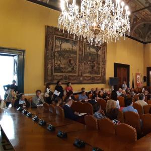 Sala del Consiglio convegno Open Data 22