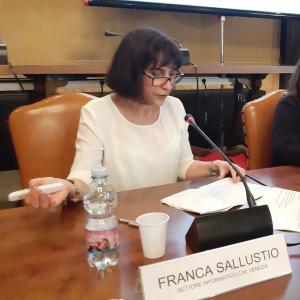 Relatrice Franca Sallustio 25