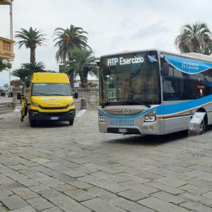Nuovi autobus ibridi Atp 12