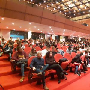 La cerimonia di apertura alla Sala Maestrale 2