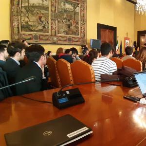 Seconda giornata, sala consiglio metropolitano, presentazione dei lavori 3