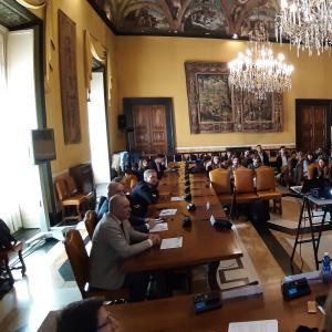 Seconda giornata, sala consiglio metropolitano, presentazione dei lavori 6