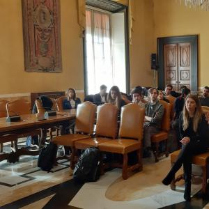 Seconda giornata, sala consiglio metropolitano, presentazione dei lavori 10