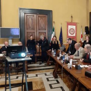 Seconda giornata, sala consiglio metropolitano, la proclamazione del gruppo vincitore 3