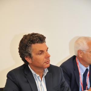 Carlo Bagnasco, sindaco di Rapallo e Vice presidente CMGE