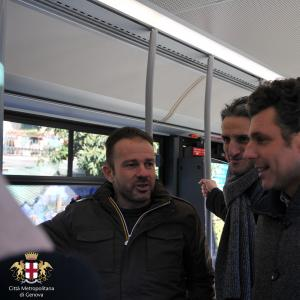 Bus elettrici ATP Portofino-Rapallo, Carlo Bagnasco, Paolo Donadoni e Matteo Viacava