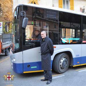 Bus elettrici ATP Portofino-Rapallo, Claudio Garbarino consigliere delegato Città Metropolitana