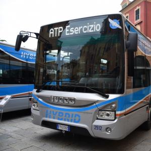 Nuovi autobus ibridi Atp 11