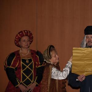 La cerimonia di apertura alla Sala Maestrale 3