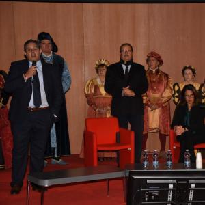 La cerimonia di apertura alla Sala Maestrale 6