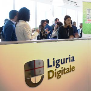 Prima giornata, sede di Liguria Digitale, arrivo partecipanti
