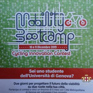 Prima giornata, sede di Liguria Digitale, la locandina dell'evento