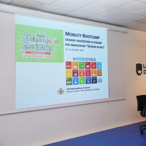 Prima giornata, sede di Liguria Digitale, presentazione progetto  dell'architetto Lonati 1