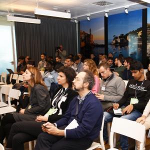 Prima giornata, sede di Liguria Digitale, presentazione progetto  della dottoressa Arzà 3