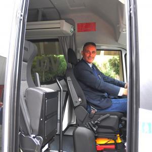 Claudio Garbarino, consigliere delegato ai Trasporti CMGE