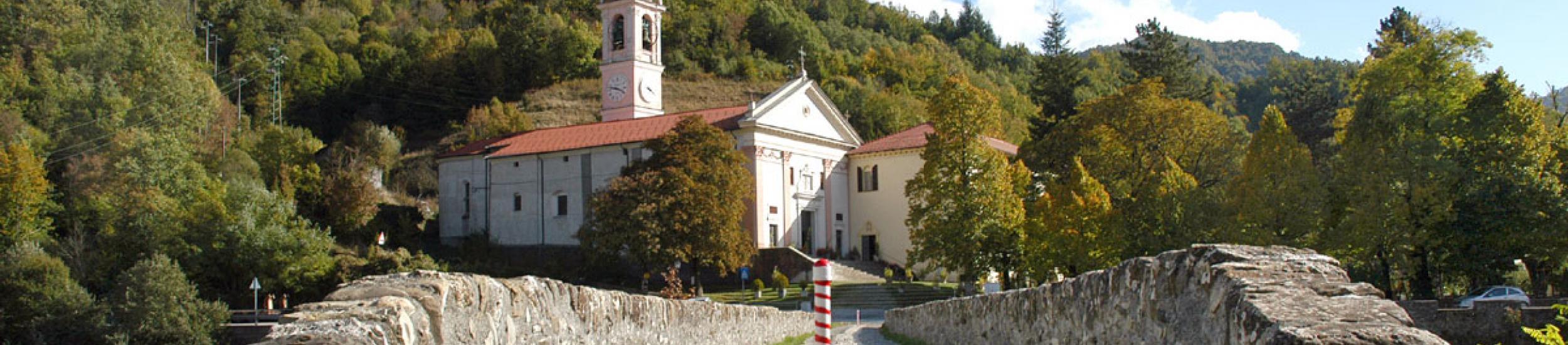 Montebruno, il ponte