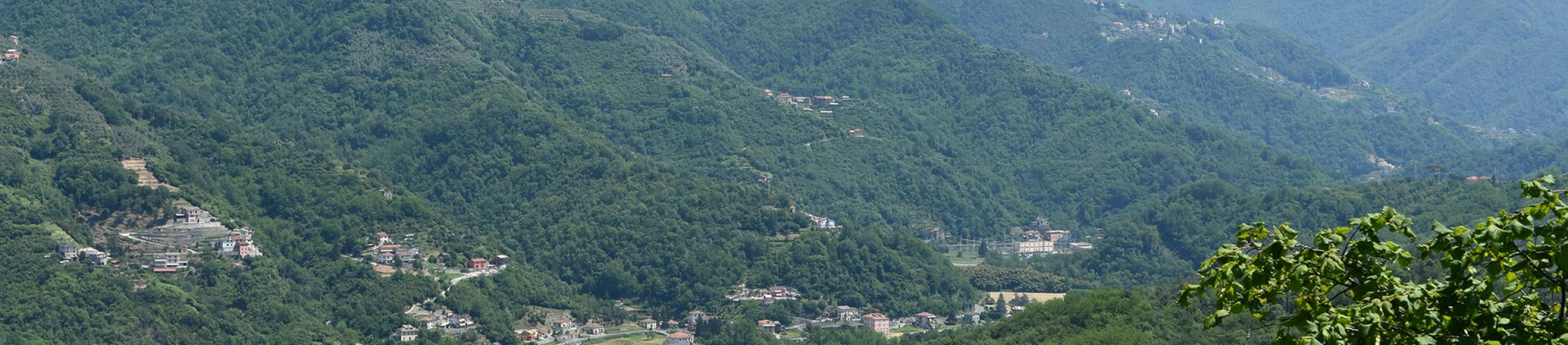 Panoramica Val Fontanabuona