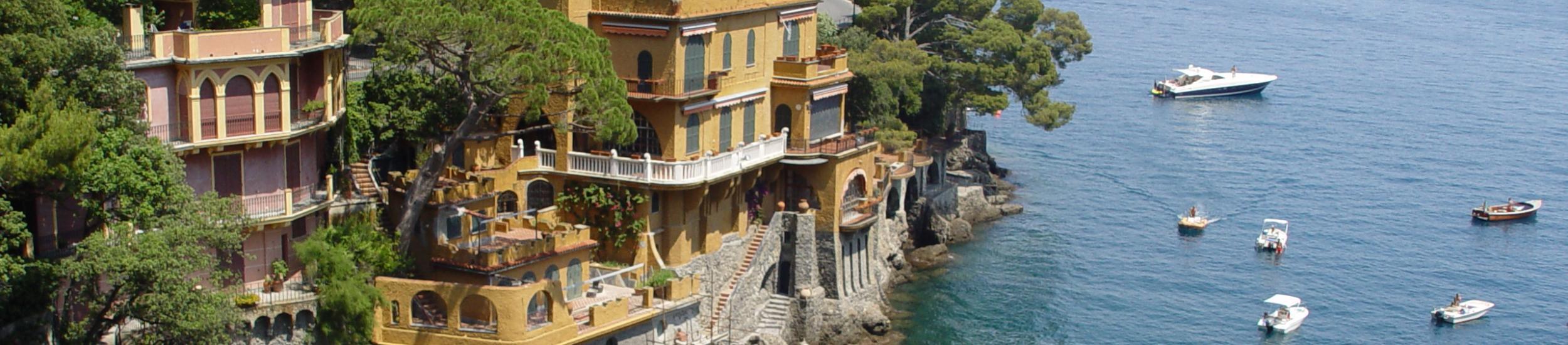 Vista di Portofino