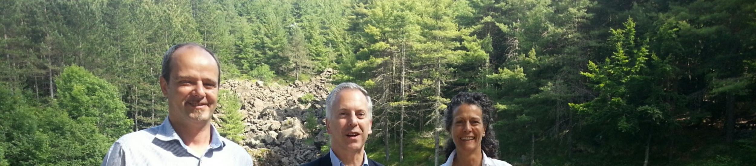 News: La visita di marco doria con i sindaci fra bellezze e problemi della val d'aveto (video di tabloid)