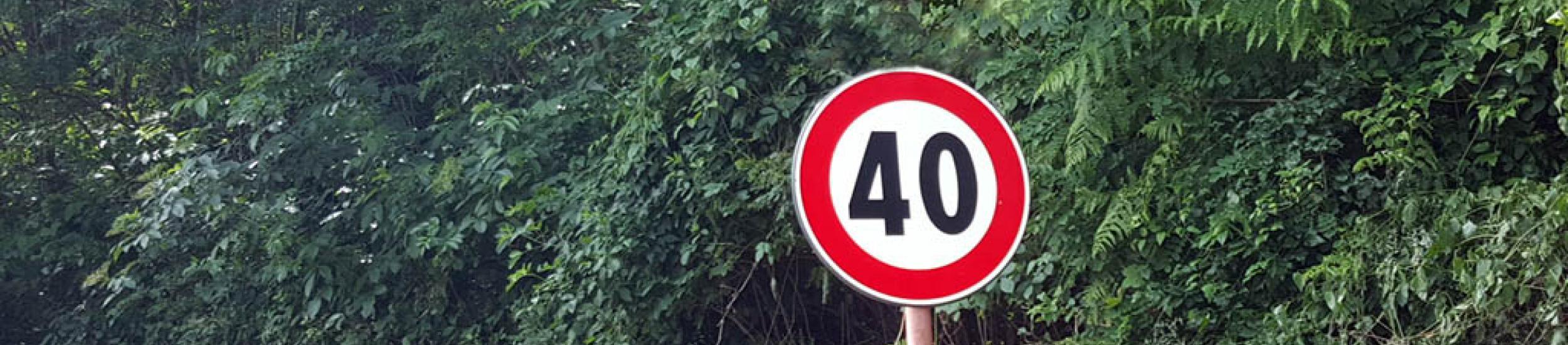 News: Strade, limite di velocità di 40 km all'ora su quattro provinciali della val trebbia