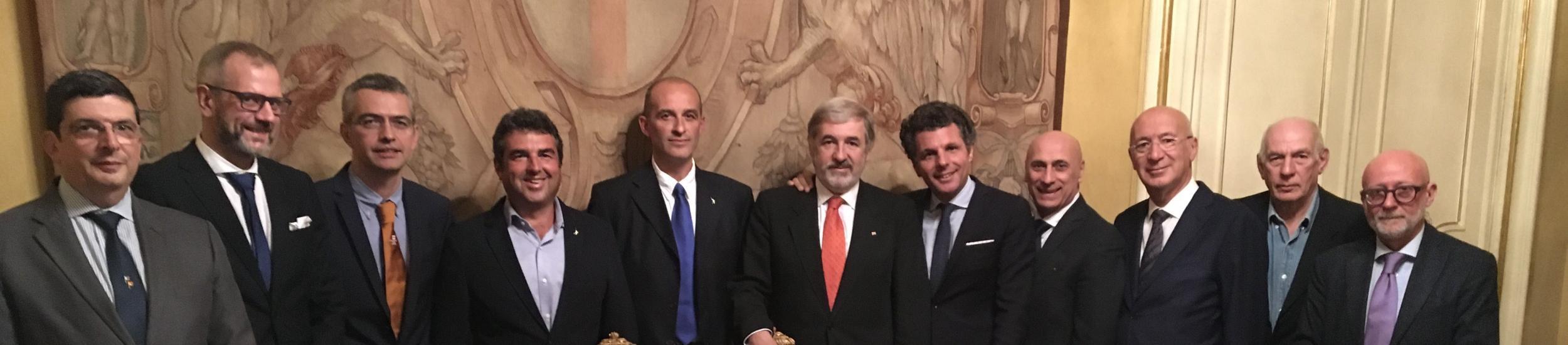 Foto di gruppo dei Consiglieri Delegati