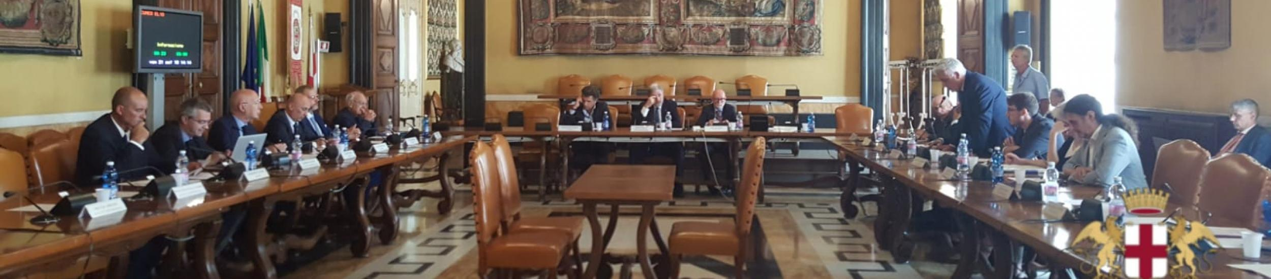 News: Consiglio: Approvato il Bilancio Consolidato del gruppo Città Metropolitana di Genova per il 2017