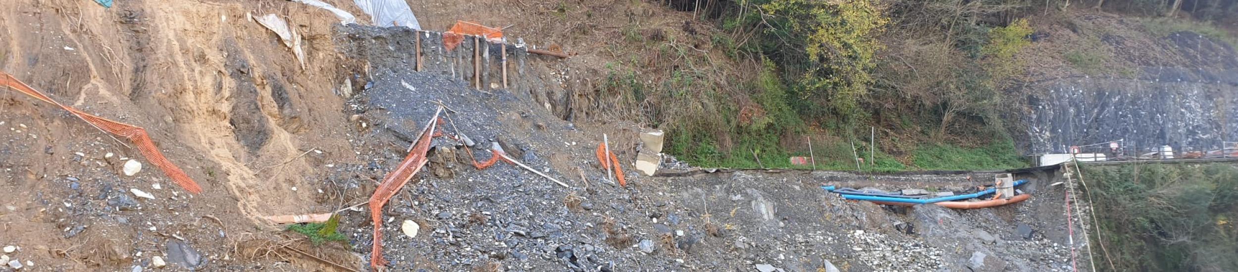 News: SP4 dei Piani di Praglia. Individuate le risorse per la ricostruzione in località Santa Marta.
