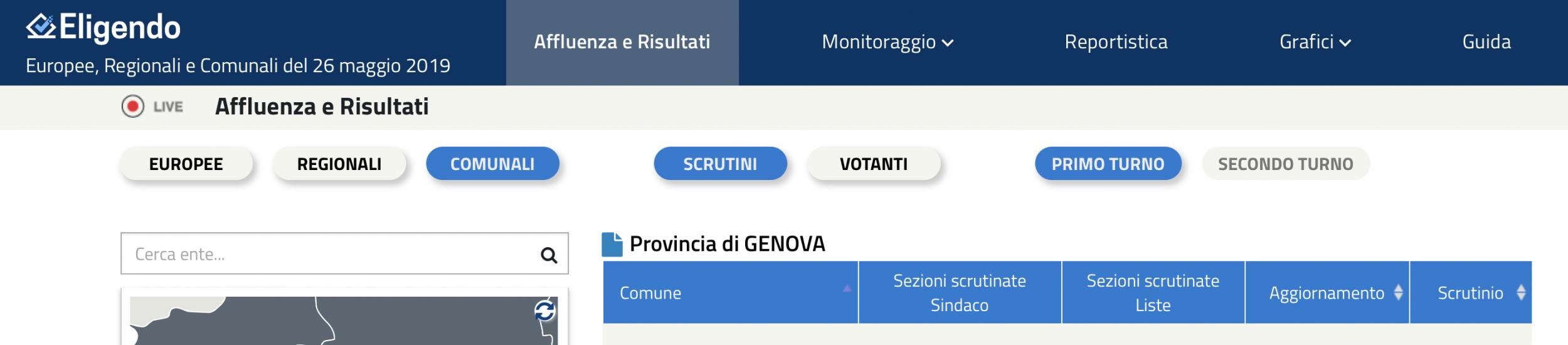 immagine 43 Comuni al voto in @Genovametropoli, 20 nuovi sindaci, 23 rieletti e 7 consiglieri metropolitani riconfermati
