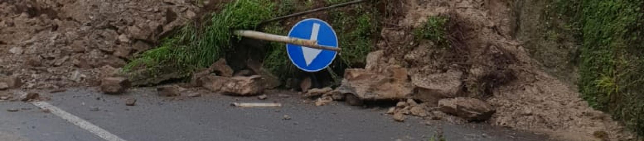 Campomorone, temporanea interdizione della circolazione veicolare su SP 6 di Isoverde