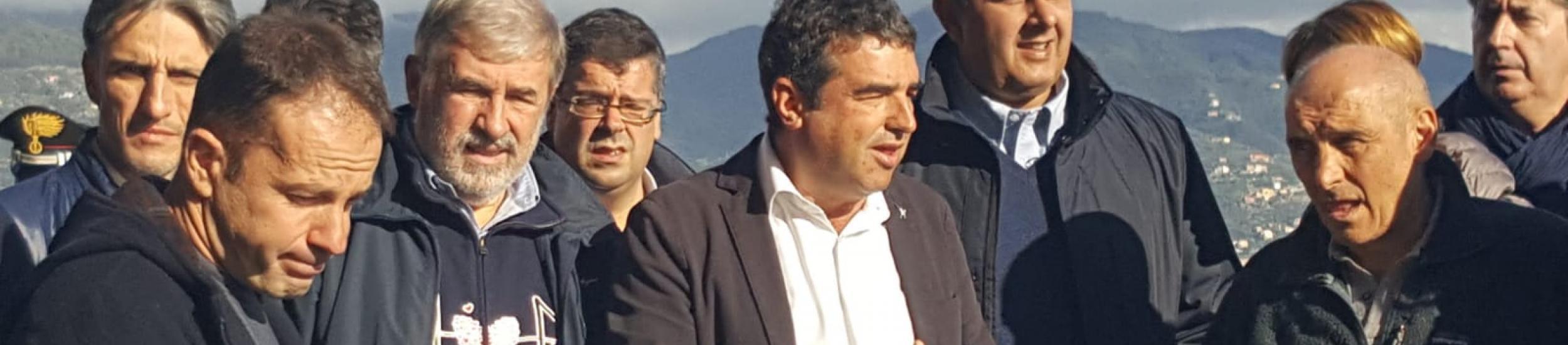 News: SP227 di Portofino: Sopralluogo del Governatore Giovanni Toti con il Sindaco Metropolitano Marco Bucci