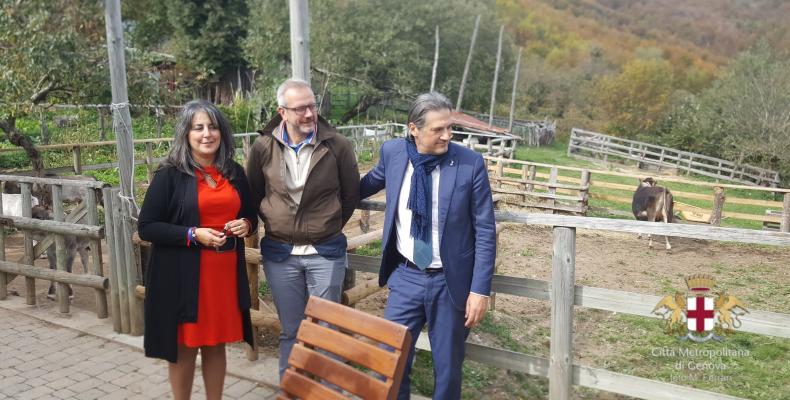 Fondi PSR: visita ad una azienda agricola, Daniela Segale, Roberto Cella, Stefano Mai