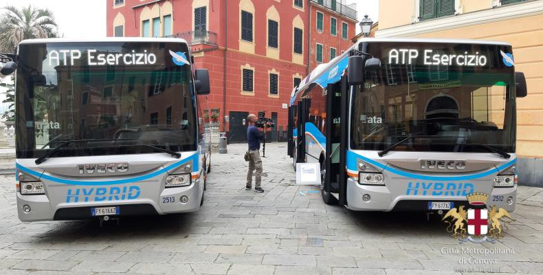 Nuovi autobus ibridi Atp 1