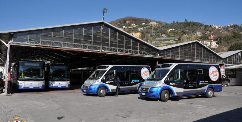 Bus elettrici ATP Portofino-Rapallo