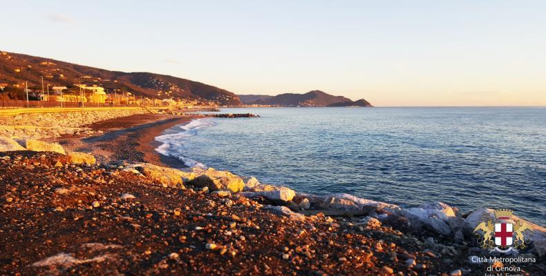 Lavagna, vista spiaggia