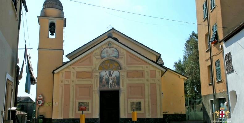 Arenzano, Chiesa di San Bartolomeo