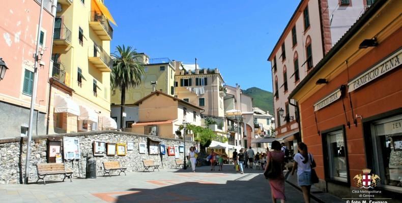Arenzano, Via Domenico Bocca