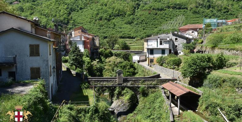 Borgonovo Ligure, ponte