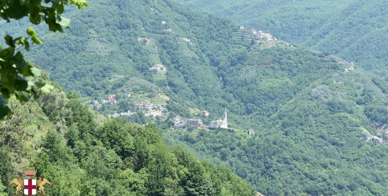 Certenoli di San Colombano, panorama