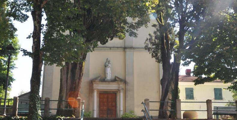 Gorreto, scorcio Chiesa di S. Caterina da Siena