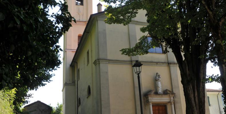 Gorreto, Chiesa di S. Caterina da Siena