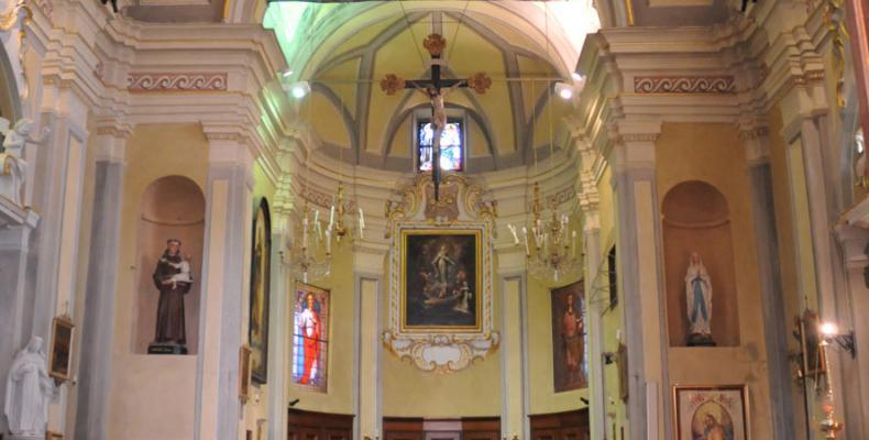 Gorreto, altare Chiesa di S. Caterina da Siena