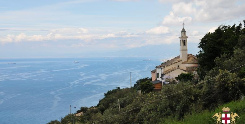Santa Apollinare, panorama