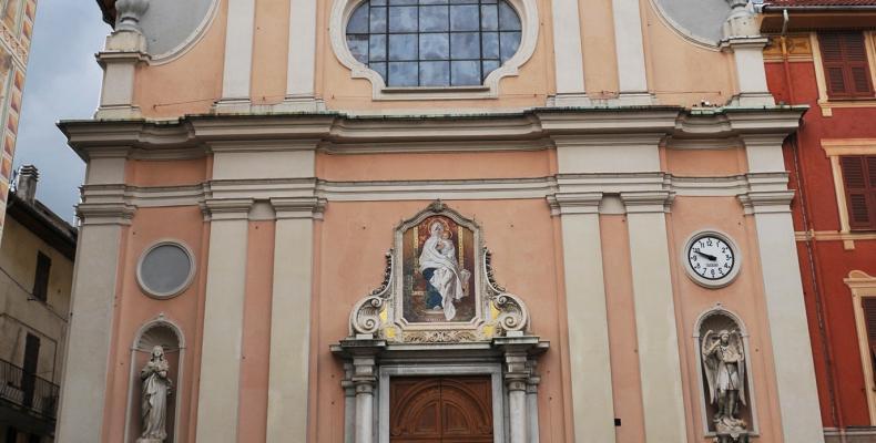 Campo Ligure, la chiesa della Natività