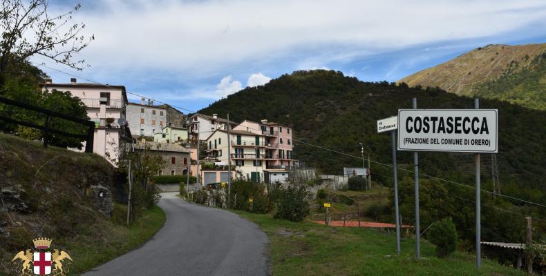 Costasecca di Orero, paese
